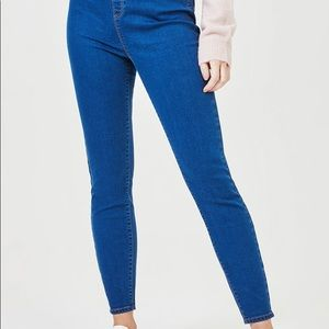 Womens Basic Blue Kate Jeggings